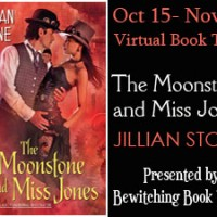 Character Interview & Giveaway – THE MOONSTONE AND MISS JONES by Jillian Stone