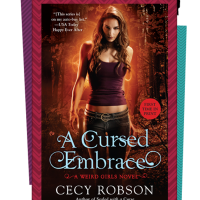 Cover Reveal & Giveaway – A CURSED EMBRACE by Cecy Robson