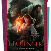 Cover Reveal – HARBINGER by Philippa Ballantine