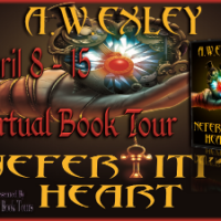 Guest Post & Giveaway – A.W. EXLEY & Nefertiti's Heart