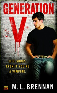 Review – GENERATION V by M.L. Brennan