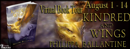 Guest Post & Tour Giveaway – Philippa Ballantine & KINDRED AND WINGS