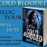 INTERVIEW & GIVEAWAY – Amanda Carlson and Cold Blooded