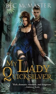 ARC Review & Giveaway – My Lady Quicksilver by Bec McMaster