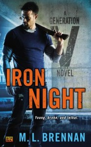 Review & Giveaway – IRON NIGHT by M.L. Brennan