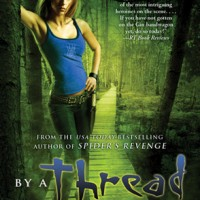 Two Blogs and a Book – BY A THREAD by Jennifer Estep (+ Giveaway!)
